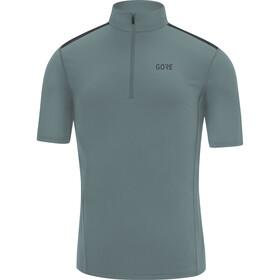 GORE WEAR R5 Camiseta Cremallera Hombre, azul